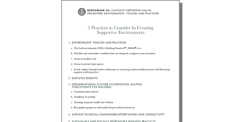 5 Practices To Consider In Creating Supportive Environments
