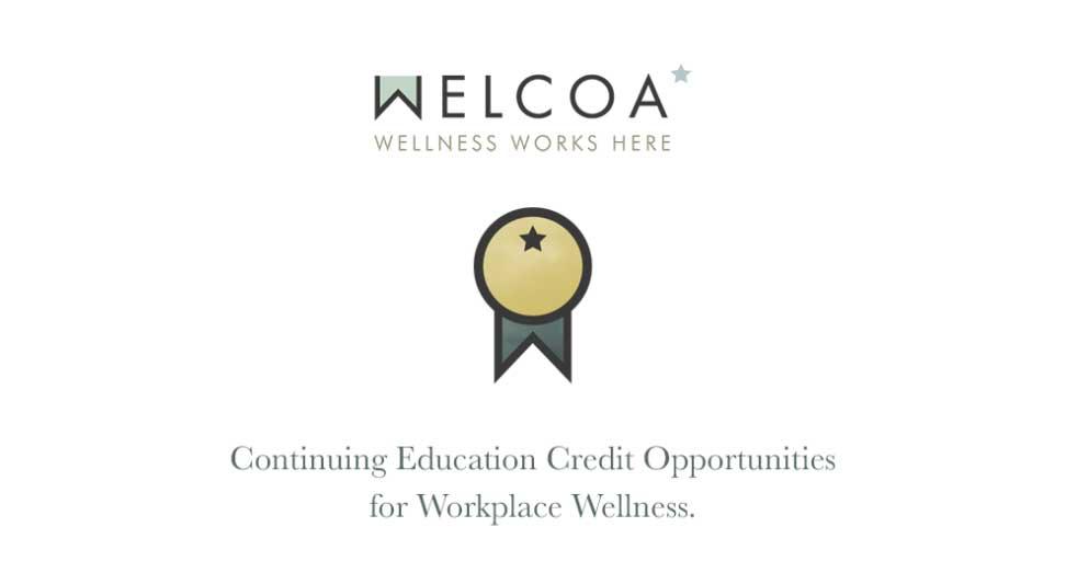 Workplace Wellness Training Certifications Welcoa